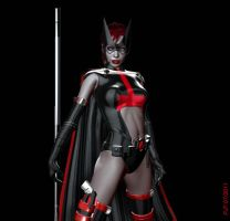 Bat Rayne Huntress by TheGeminiDream