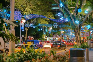 Orchard Road by josephacheng