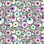 Candy Pastel Eyeballs by NYUOtaku