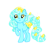 .:CLOSED:. Rubber Ducky HoloCoffee Pony Adopt by Angel-Coffee