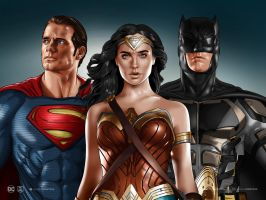 Justice League by dimitrosw