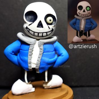 Sans from Undertale Game by ArtzieRush