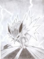 Jolteon's Thunder by Morgster