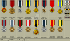 BSG Uniform Medals by Wolff60