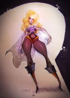 Barbarella Queen of the Galaxy by gadeaster