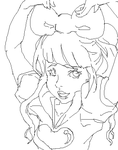 KPP: Candy candy lineart by skemo-cindy