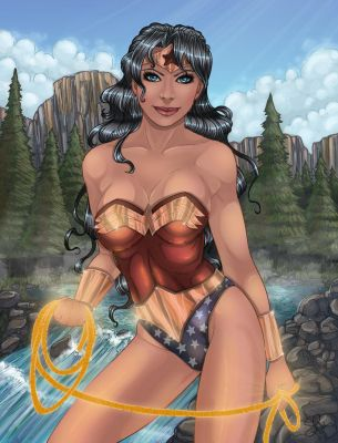 Wonder Woman Color by SChappell