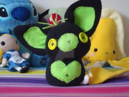 Chibi fhuzky plush by Princess-Amalthea