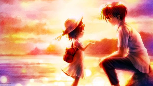 Lullaby for Ushio by SquallEC