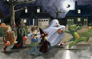 Halloween by Quezzie