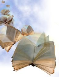 Flying Books by EdCamp65RHH