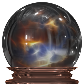Crystal Ball Transparent png by manoluv