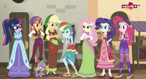 MLP Equestria Girls Movie Magic Moments 7 by Wakko2010