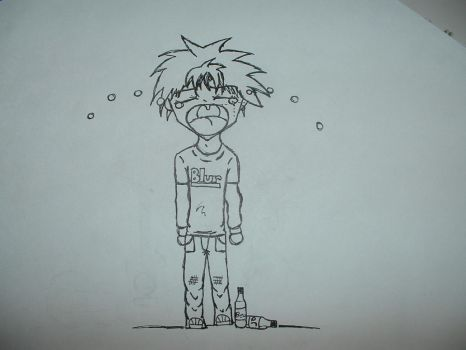 Sad crying British boy by xXBrokenskiNXx