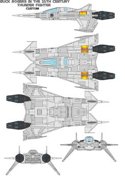 buck rogers ThunderFighter mod by bagera3005