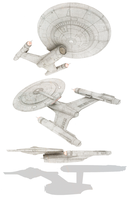 U.S.S. Discovery redesign concept by hanzhefu