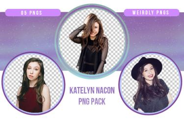 Katelyn Nacon PNG Pack by Weirdly-PNGS