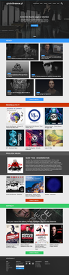 Globaltrance.pl redesign concept by lothar1410