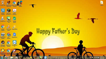 Windows 7 Desktop: Father's Day by jcpag2010