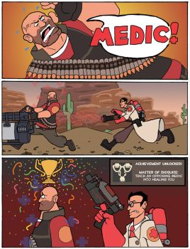 Angry Army Comic #7 by phillipchanter