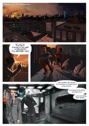 Hollow City Intro Comic page 1 by Antihelios