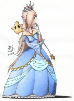 New Dress for Rosalina colored by JMR-Mobius-1