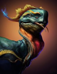 Drago bust by NewmanD
