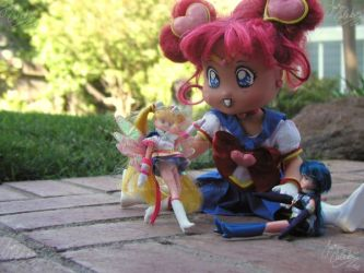 playing with dolls by JCproductions