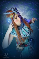 Aloy Banuk Ice hunter outfit - Horizon Zero Dawn by PretzlCosplay