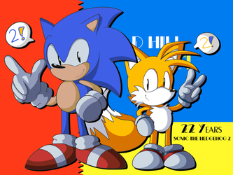 Sonic the Hedgehog 2: 22 Years Anniversary by itsscarfy