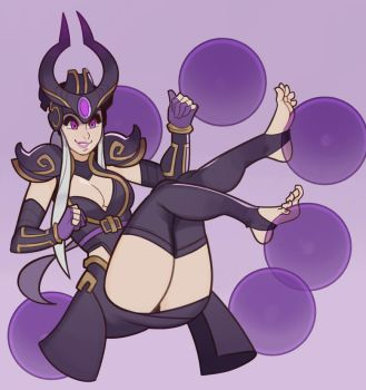 League of Legends, Syndra by SplashBrush