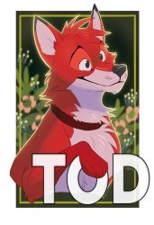 Tod Collab Badge by OrcaOwl