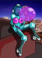 Tiffany's Bubble Blowing Suit by JDogindy