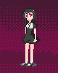 A Pixel Girl -B by gherhw1023