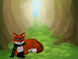 Foxfang contest entry by Engelfenix