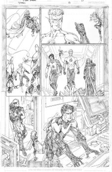 Titans #13 page 17 by vmarion07
