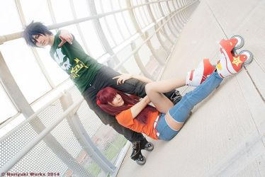 Air Gear   Storm and Thorn by MinamiKing