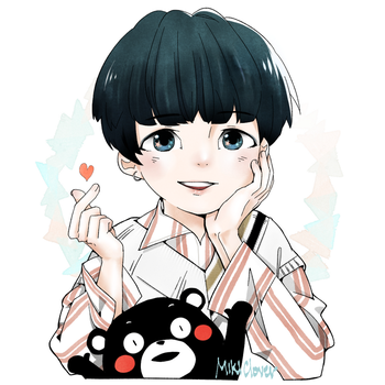 Yoongi_HBD [005] by MikiClover