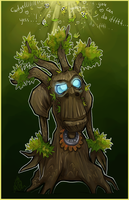 Commission: Treant chibi by liea