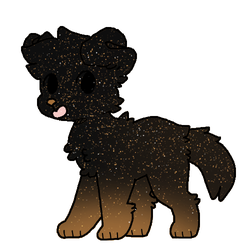 Free Cute Cocoa Dog Adoptable (Open) by LunarWolf2206
