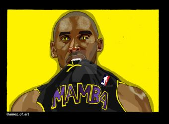 The Black Mamba by amozofart