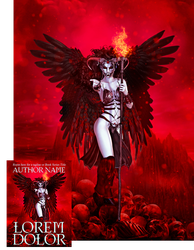 Crimson Queen Premade Book Cover by Viergacht