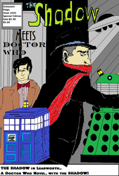 Doctor Who meets the Shadow by Aetherartist