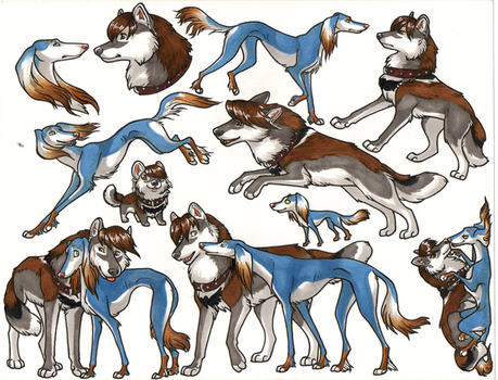 of wolf and hound by swift-whippet