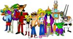 Favorite Crash Characters by DrSpeed