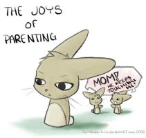 The Joys of Parenting by Pandas-R-Us