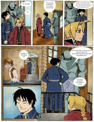 FMA The Abducted Alchemist project page 30 col by hope30789