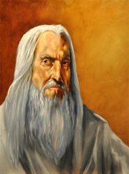 Saruman: A lotr Portait by grantcooley