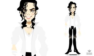 MICHAEL JACKSON Black or White by nicotronick
