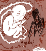 The child and a face of death by 66reddog
